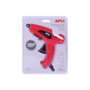 Tavná pistole APLI 40W + 2 tavné tyčinky