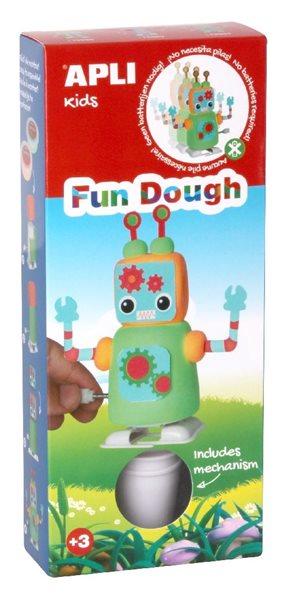 Modelovací sada FUN DOUGH - Robot zelená (chodící)