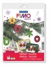 Fimo Soft sada - základní Vánoční