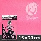 Nažehlovací fólie HOT FIX - FLUO růžová