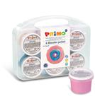 Prstové barvy PRIMO, sada 6 x 100 g - perleťové