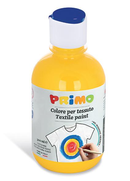 Barva na textil PRIMO, 300 ml - žlutá