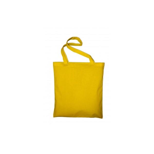Textilní taška k domalování - žlutá