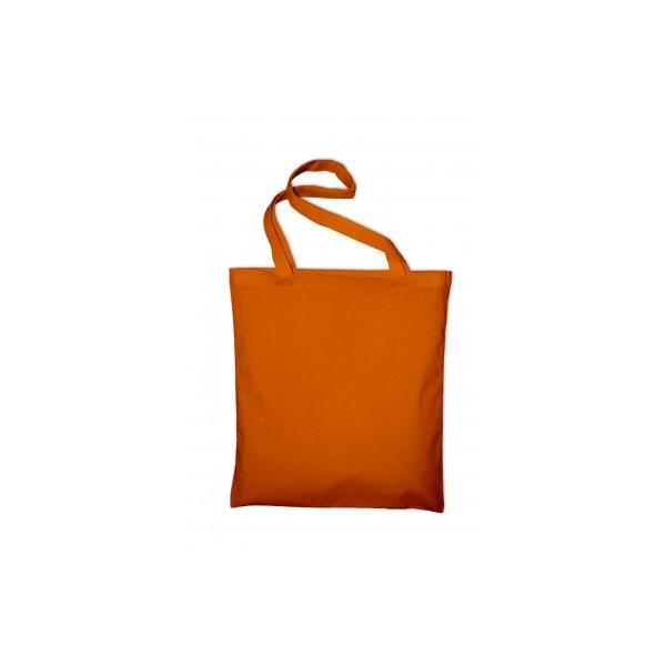Textilní taška k domalování - oranžová