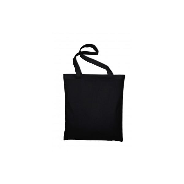 Textilní taška k domalování - černá