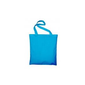 Textilní taška k domalování - světle modrá