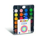 PRIMO Vodové barvy 24 barev, 30 mm