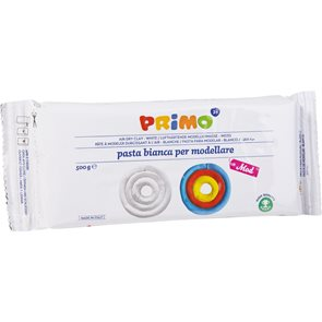PRIMO samotvrdnoucí modelovací hmota 500 g - bílá