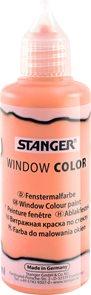 Barva na sklo STANGER 80 ml, oranžová