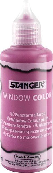 Barva na sklo STANGER 80 ml, růžová