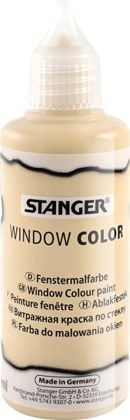 Barva na sklo STANGER 80 ml, zlatá