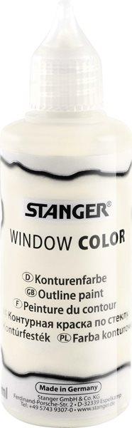 Kontura na sklo STANGER 80 ml, transparentní