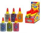 Dekorační lepidlo Colorino - Glitter Confetti, 2x 6 barev (balení set 12 ks)
