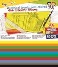 Barevné papíry A4 150 g - mix 10 barev