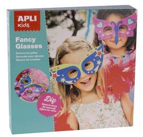 APLI Sada pro výrobu karnevalové masky, 2 ks