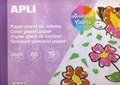 APLI Lakovaný papír 85 g - mix barev