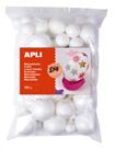 APLI Polystyrenové kuličky, mix velikostí - 100 ks