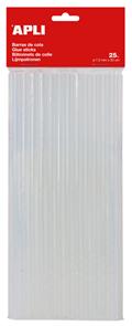 Tavné tyčinky APLI - 7,5 mm x 20 cm - 25 ks