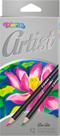 Colorino Artist dřevěné pastelky - 12 barev