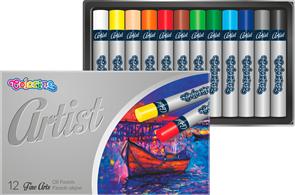 Colorino Artist olejové pastely - 12 barev