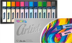 Colorino Artist suché pastely - 12 barev