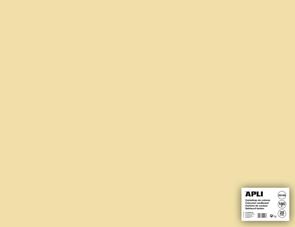 APLI sada barevných papírů, A2+, 170 g, krémový - 25 ks