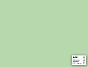 APLI sada barevných papírů, A2+, 170 g, smaragdově zelený - 25 ks