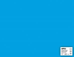 APLI sada barevných papírů, A2+, 170 g, nebesky modrý - 25 ks