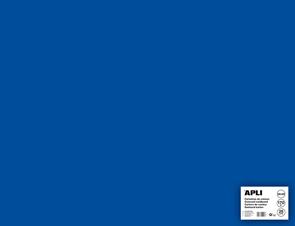 APLI sada barevných papírů, A2+, 170 g, tmavě modrý - 25 ks