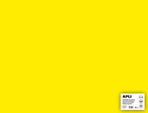 APLI sada barevných papírů, A2+, 170 g, fluo-žlutý - 25 ks
