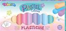 Modelovací hmota Colorino - pastelové odstíny, 12 barev