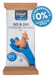 Creall Samotvrdnoucí modelovací hmota DO&DRY - 500 g, terakota