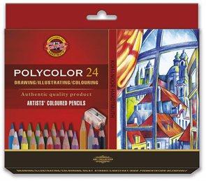 Umělecké pastelky Koh-i-noor POLYCOLOR 3834 - 24 ks