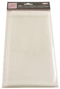 Docrafts Celofánové sáčky DL 115 x 225 mm, samolepicí (50 ks)