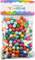 Dřevěné korálky, barevné 1 x 1,1 cm - 200 ks