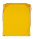 Bavlněný batoh k domalování - barva žlutá
