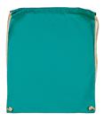 Bavlněný batoh k domalování - barva tyrkysová