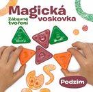 """Kniha """"MAGICKÁ VOSKOVKA"""", díl 3 """"PODZIM"""" (inspirace+voskovky+výseky)"""