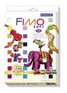 Sada modelovací hmoty FIMO soft 24x25 g RETRO + 4 vykrajovátka ZDARMA