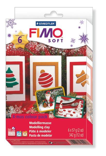 Fimo soft Vánoční sada + vytlačovací forma zdarma!