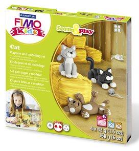 Sada FIMO Kids Form & Play - Kočky