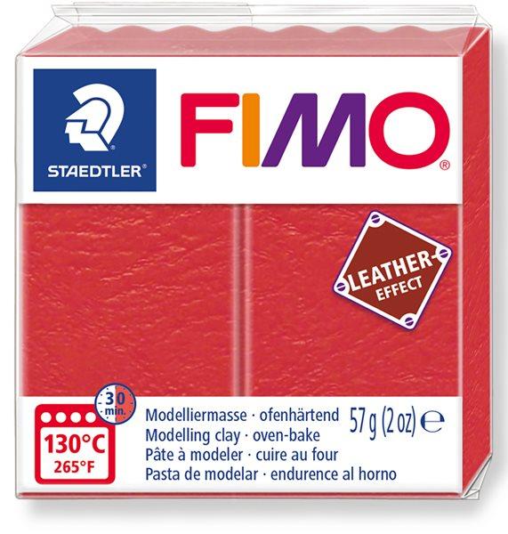 FIMO LEATHER efekt - vodní meloun
