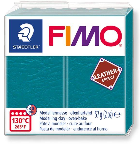 FIMO LEATHER efekt - laguna