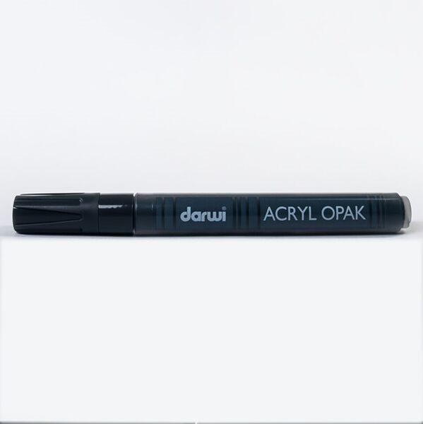 DARWI Akrylová fixa - silná - 6ml/3mm - černá, Sleva 20%