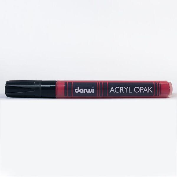 DARWI Akrylová fixa - silná - 6ml/3mm - růmělková červená, Sleva 20%