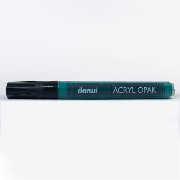 DARWI Akrylová fixa - silná - 6ml/3mm - tmavě zelená, Sleva 20%