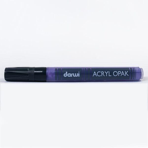 DARWI Akrylová fixa - silná - 6ml/3mm - fialová, Sleva 20%