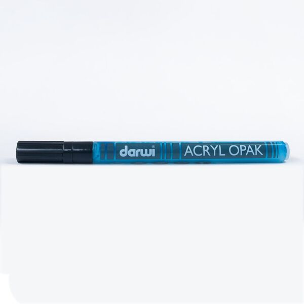 DARWI Akrylová fixa - tenká - 3ml/1mm - světle modrá, Sleva 20%