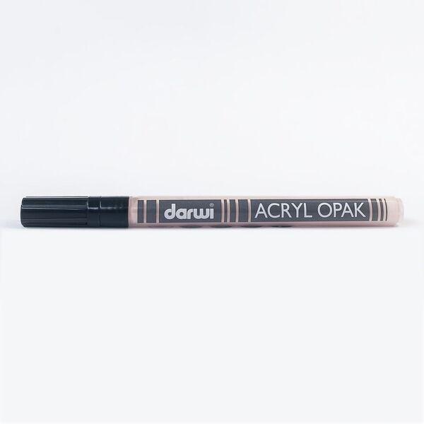 DARWI Akrylová fixa - tenká - 3ml/1mm - tělová, Sleva 20%