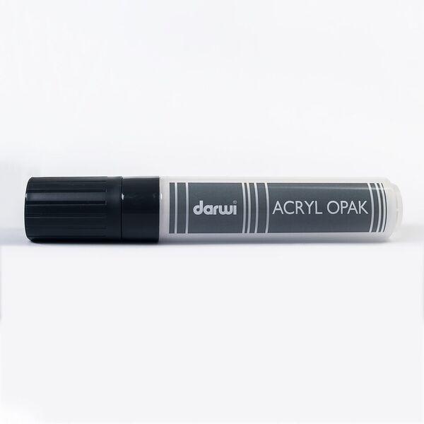 Akrylová fixa Darwi - MAXI - 25ml/15mm - krycí bílá